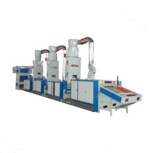 China Suppliers Jeans Fabric Cotton Foam Textile Waste Old Cloth Recycling Machine