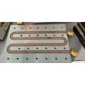 Kühlplatte Hartlot Kupferrohr Aluminiumblock Schweißrohr