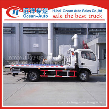 Dongfeng dlk flatbed tow truck sale