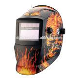 Auto Darkening Welding Helmet with solar cell