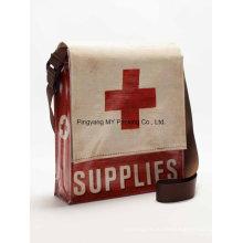 Заказ OEM изготовленное на заказ печатание Слоения Сплетенный PP мешок плеча