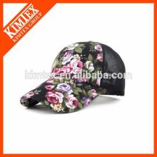 printed trucker style mesh cap baseball cap