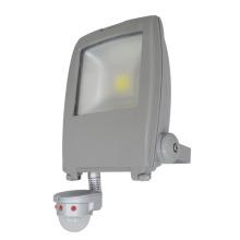 Luz nova da lâmpada de inundação do diodo emissor de luz da ESPIGA da paisagem do sensor 100lm / W 70W de PIR