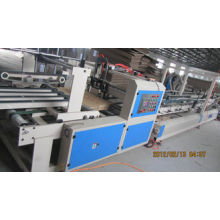 Energy Conservation Folding Gluing Machine , Counter / Stacker