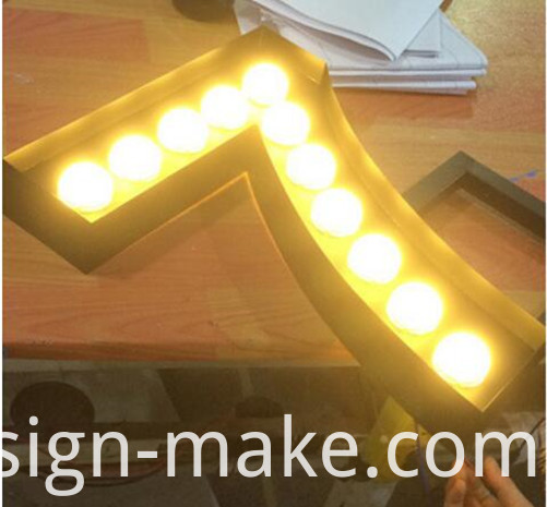 marque letters