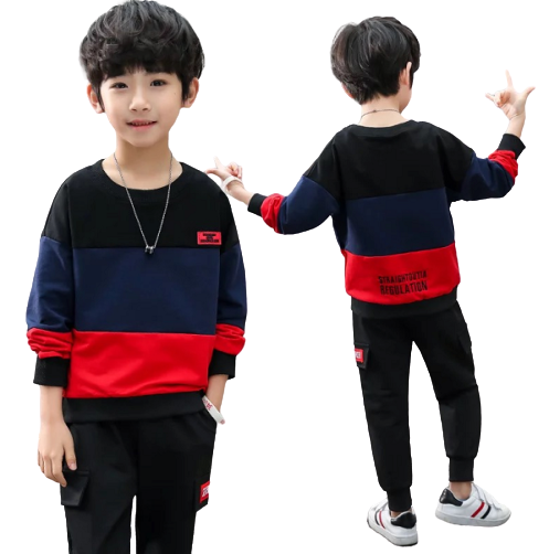 Boys Long-sleeved Suit
