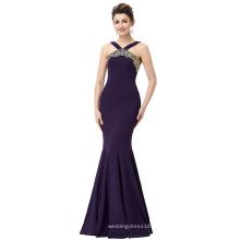 Starzz 2016 Backless vestido de sirena de cola de pescado vestido de noche barata ST000058-1