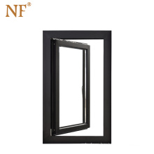 Newly Design Aluminum Frame Tilt And Turn Double Glazed Window