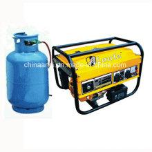 4.5kVA Gasolina Gás Natural Gerador