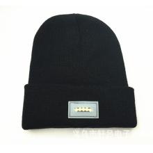 Chapeau de LED tricoté acrylique personnalisé