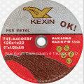 125X1X22mm Super Thin Trennscheibe für Metall