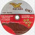 125X1X22mm Super Thin Cutting Disc for Metal