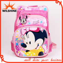 Cute Polyester Mickey Students School Bag for Girls (SB021)