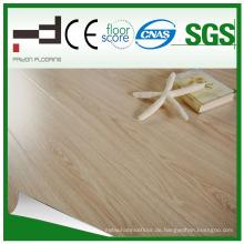 12mm Glossy Surface Series Hellgelber laminierter Boden