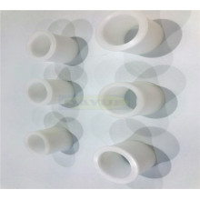 CNC turning machining plastic products PVC parts