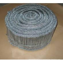 Fio galvanizado do laço do laço / fio de ligação galvanizado / fio do laço