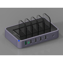 5 Port USB Ladegerät AC Adapter mit Schnellladung