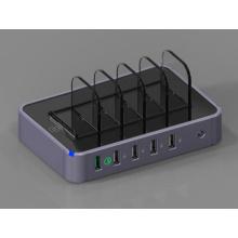 5-портовый USB зарядное устройство адаптер быстрая зарядка