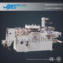 Máquina de corte con troquel de papel de etiquetas con función de laminado