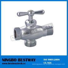 Válvula de bola de ángulo de latón para lavadora (BW-A44)