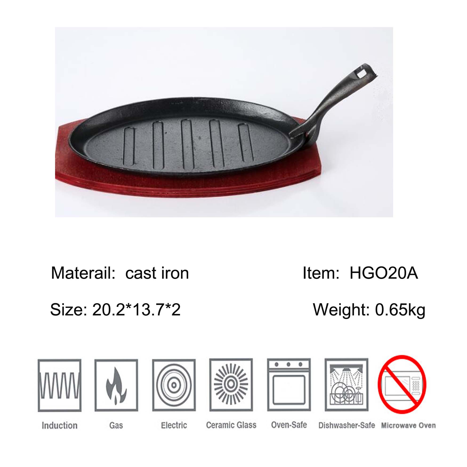 preseasoned grill pan