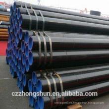 Tubo soldado de carbono / tubo de diámetro pequeño / tubo de acero al carbono