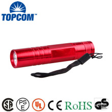 Aluminum Alloy Lamp Body Material And Emergency Usage LED Torch Keychain