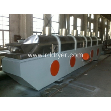 Vibrating-Fluidized Dryer for Foodstuff Industry