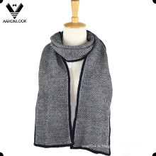 Écharpe en maille de mode Acrylic Winter Warm Men
