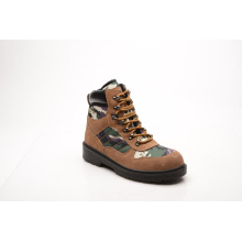 New Designed Suede Leather & Fabric Safety Boots (HQ6001)