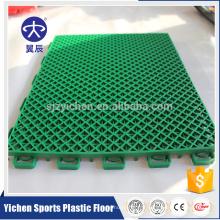 Tuiles emboîtables extérieures PP tuiles imbriquées écologiques pour le basket-ball ou le terrain de jeu
