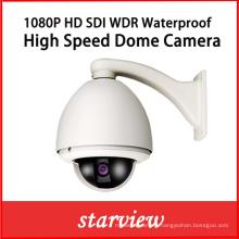 1080P HD Sdi WDR Waterproof High Speed Dome Security Camera