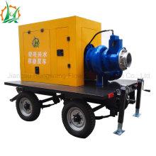 Bomba centrífuga de drenaje autoimpulsado diesel o eléctrico