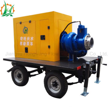 Diesel or Electric Self Priming Sewage Centrifugal Pump