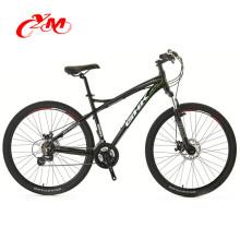 Alibaba mens bicicletas de carretera en venta barato / 7 velocidad de freno de disco bicicleta de carretera / 26 pulgadas negro bicicleta