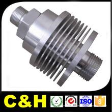 Части CNC, вращающиеся из углеродистой стали / нержавеющей стали / SUS304 / SUS201 / SUS316