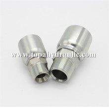 Factory directly provide for One Piece Hose Fitting Popular brands Chrome Plate hydraulic hose connectors export to Madagascar Supplier