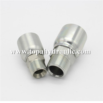 Popular brands Chrome Plate hydraulic hose connectors