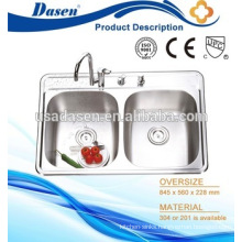 DS8456 undermount kitchen home depot restaurant stainless steel sink