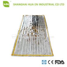 Mylar Alumínio saco de dormir de emergência CE ISO fabricado na China