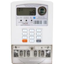 Смарт однофазный счетчик клавиатуры Prepaid Meter