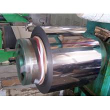 201 laminou a bobina de aço inoxidável do revestimento 2b
