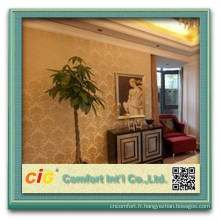 revêtements de mur en plastique décoratifs / revêtement mural en plastique / revêtement mural sans soudure