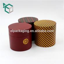 Fábrica experiente padrão impresso personalização matt laminação vela uso da indústria caixa de tubo de papel barato