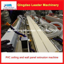Twin Screw Design PVC Wall Panel and Ceiling Panel Extrusion Machine
