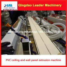 Твиновская Конструкция панели стены PVC и панели потолка экструзии машина