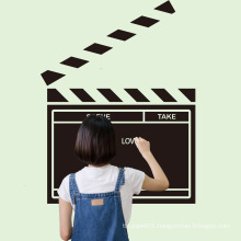 In Stock Waterproof Removable Chalkboard Vinyl Wall Blackboard Sticker For Decoration