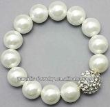 2012 Wholesale high-quality crystal charm beaded Bracelet-14pcs/row-B22037-4