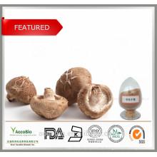 Alta Qualidade 100% Natural Organic Shiitake Cogumelo Extrato Em Pó