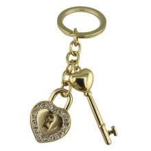 Goldene Herz keychain